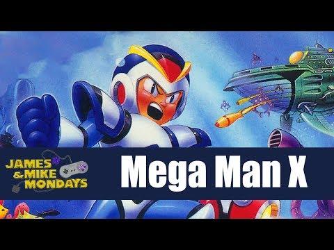 Mega Man X (Super Nintendo) Part 1 - James & Mike Mondays - Sponsored