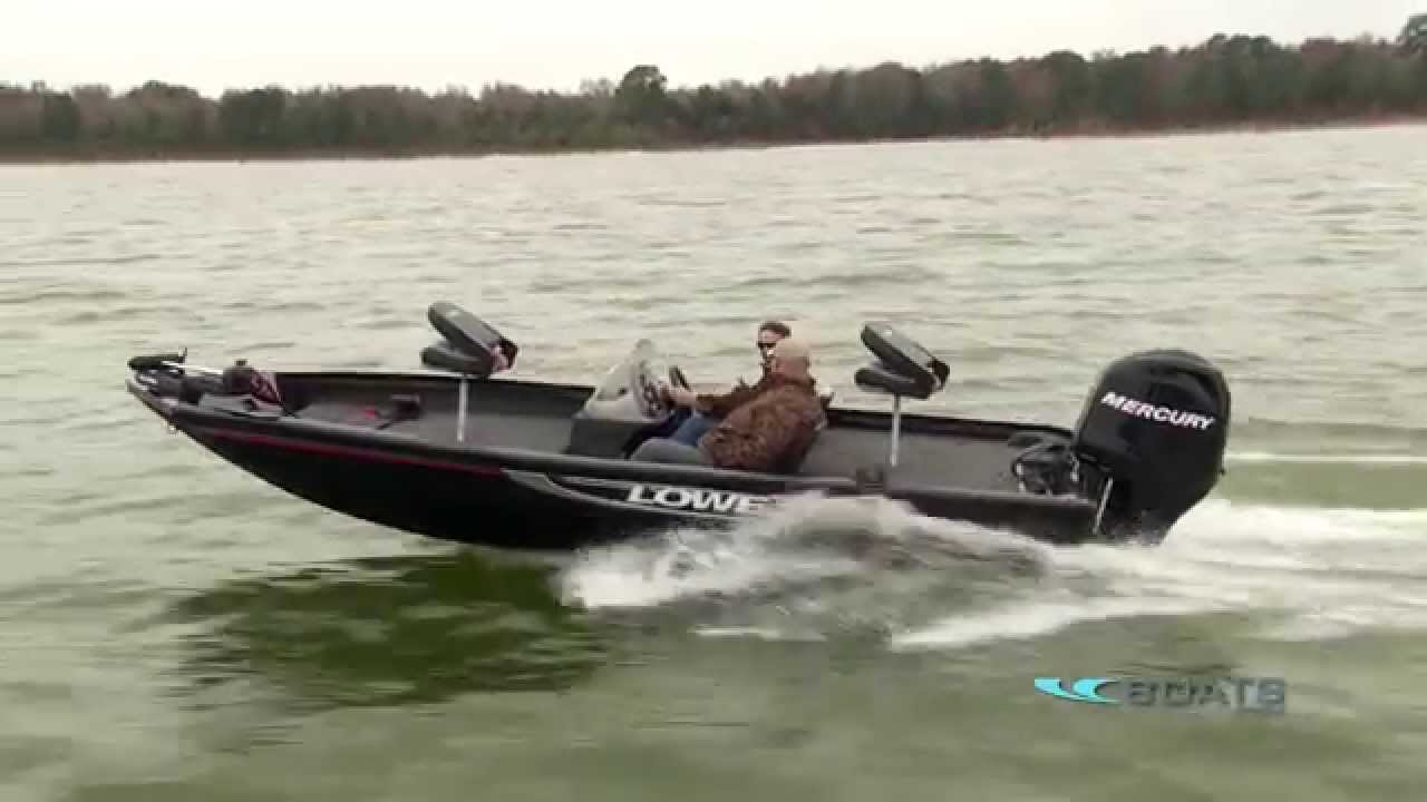 lowe stinger 175 aluminum fishing boat review performance test Bass Pro Jon Boats