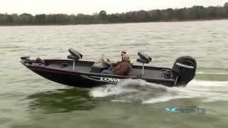 Lowe Stinger 175 Aluminum Fishing Boat Review / Performance Test