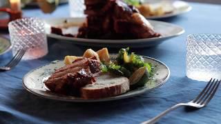 #09 三枚豚のマーマレード煮