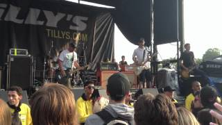 Man Overboard - Septemberism (Live in Toronto Vans Warped Tour, July 15th 2012.)