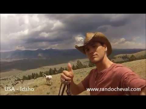 Rando Cheval - Convoyage de chevaux au ranch de Medicine Lodge aux USA