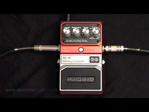 Absolute Music: Hardwire Delay Pedal DL8