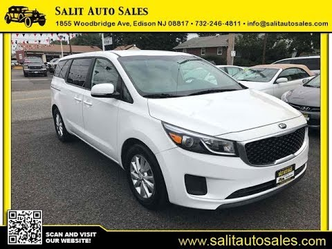 salit auto sales 2017 white kia sedona lx in edison nj. Black Bedroom Furniture Sets. Home Design Ideas