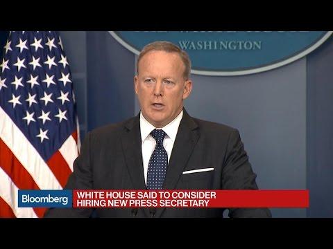White House Said to Consider Hiring New Press Secretary
