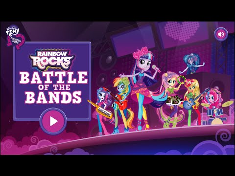 MLP:Equestria Girls - Equestria Girls Rainbow Rocks Battle of the Bands - Full Episode HD Game 2014