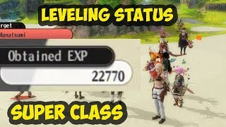 Alchemia Story Leveling status SUPER CLASS watermelon event Guide and TIps