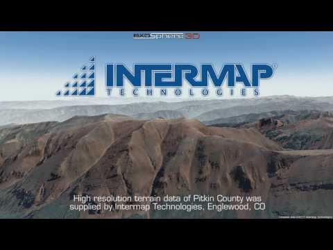 Intermap Technologies IfSAR Data Visualization: Pitkin County CO (Aspen)
