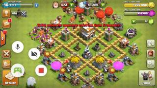 Clash of Clans Giant/Healer/Loon Attack Strategy