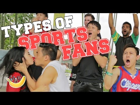 11 Types of Sports Fans