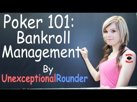 Poker Bankroll Management Lesson - Texas Holdem Poker Strategy - Online Hold em Poker