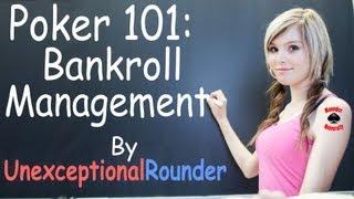 Poker Bankroll Management Lesson - Texas Holdem Poker Strategy - Online Hold em Poker