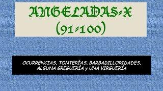Angeladas: De la 91 a la 100 (Ennio Morricone-Addio Colonello)