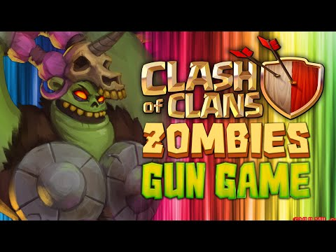 CLASH OF CLANS ZOMBIE GUN GAME★ Call of Duty Zombies Mod (Zombie Games)