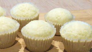 (EngSub) Bánh Bông Lan Hấp, Cách Pha Bột Mềm Xốp Nở To Không Bị Xẹp || Steamed Sponge Cake