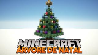 Minecraft: Como construir uma Árvore de Natal