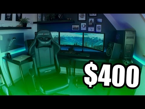 The BEST GAMING SETUP For ONLY $400! CHEAP Budget GAMING SETUP Under $400!