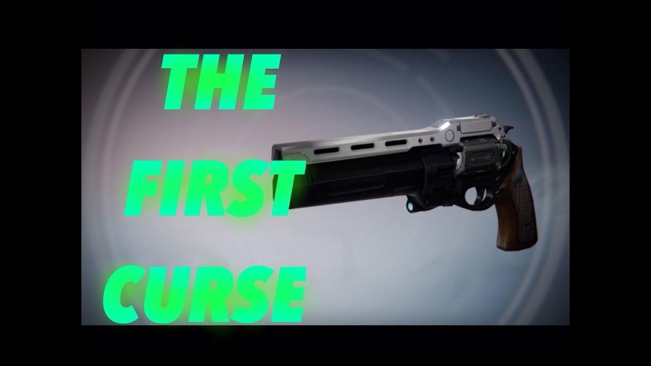 Rank 5 quest quot destiny quot the first curse quot hand cannon reward