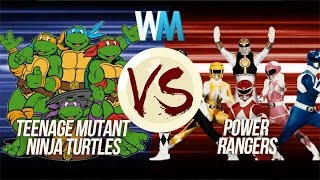 Teenage Mutant Ninja Turtles vs Power Rangers Subscribe: http://goo...