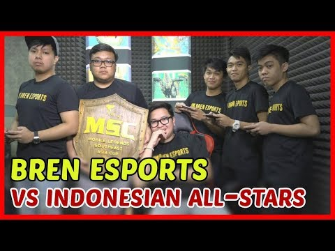 Bren Esports Challenged by JessNoLimit plus Indonesian All Stars! - Mobile Legends