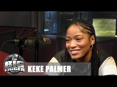 Actress/Artist Keke Palmer Live In Studio With Big Tigger!