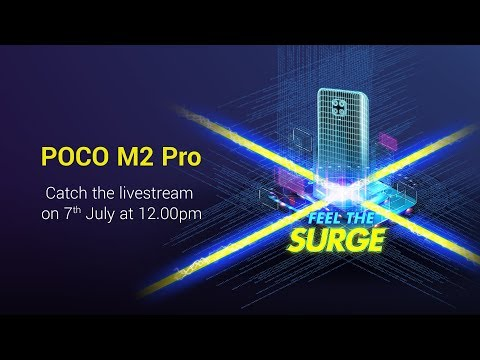 #POCOM2Pro launch livestream | #FeelTheSurge
