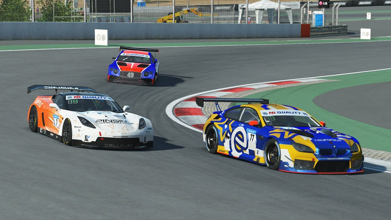 rFactor 2 | EVAL 2021 NB Quality GT | Round 1 - Dubai