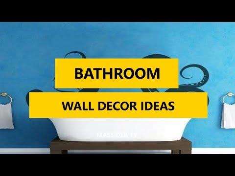 50+ Awesome Bathroom Wall Decor Ideas in 2017
