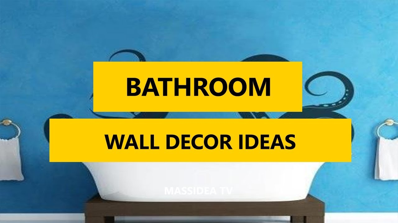50+ Awesome Bathroom Wall Decor Ideas in 2017 - YouTube