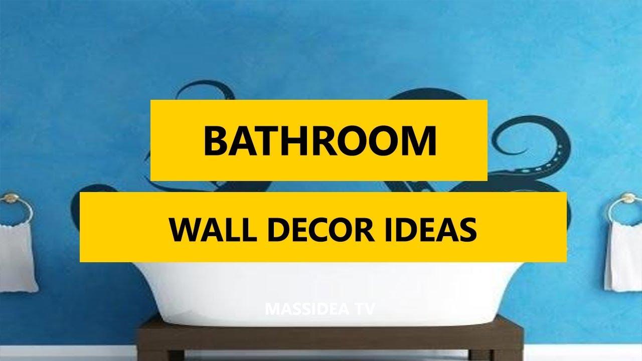 50+ Awesome Bathroom Wall Decor Ideas in 2017 - YouTube