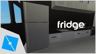 ROBLOX Studio | [SpeedBuild] Detailed Fridge