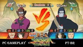 NARUTO SHIPPUDEN Ultimate Ninja STORM Revolution Roshi vs Kisame - PC Gameplay