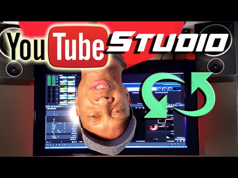 HOW TO ROTATE VIDEOS IN YOUTUBE STUDIO   NEW HACK 2020