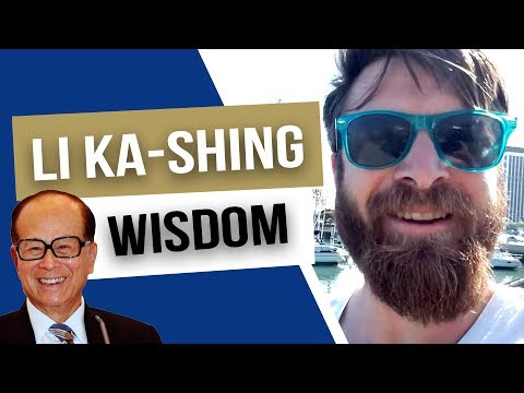 """The virtuous bear onerous duties"" - Li Ka-shing billionaire wisdom"