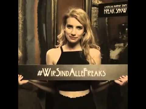 Emma Roberts Is On American Horror Story Freak Show HD