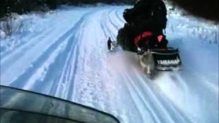 2011 apex xtx ski mounted ice scratcher test