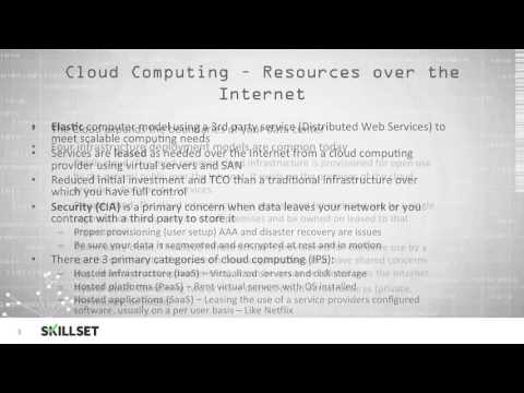 Distributed Systems and Cloud Computing (CISSP Free by Skillset.com)