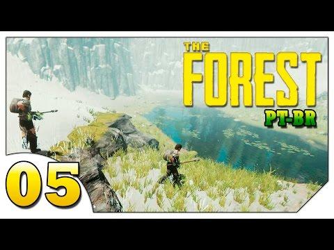 The Forest Grande Coop #05 (VAMOS JOGAR) Base na montanha nevada [Gameplay Português PT-BR]