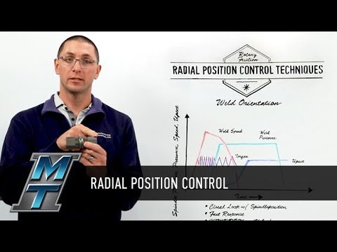 MTI Whiteboard Wednesdays: Radial Position Control Techniques