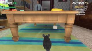 Rat Simulator gameplay walkthrough part1 (No commentary, Indie, Simulation Game Pc)