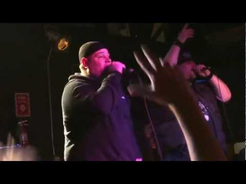 Vinnie Paz & Ill Bill LIVE - Boston END OF DAYS BLOCK MCCLOUD