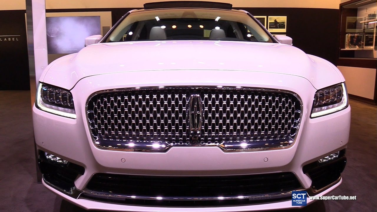 2017 lincoln continental exterior and interior. Black Bedroom Furniture Sets. Home Design Ideas