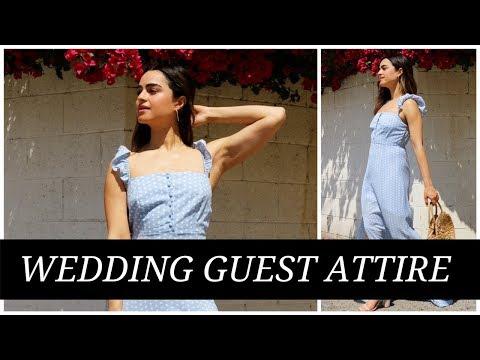 WHAT TO WEAR:  WEDDING GUEST DRESSCODE | SPRING + SUMMER