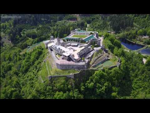 Burg Landskron in Villach, Austria  -  Dji Mavic Pro drone -  Skydronauts