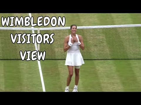 MUGURUZA Vs Venus Williams - Wimbledon Final 2017 - Visit Vlog - Blog#6
