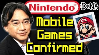 Nintendo Mobile Games Confirmed, New Nx Console Announced