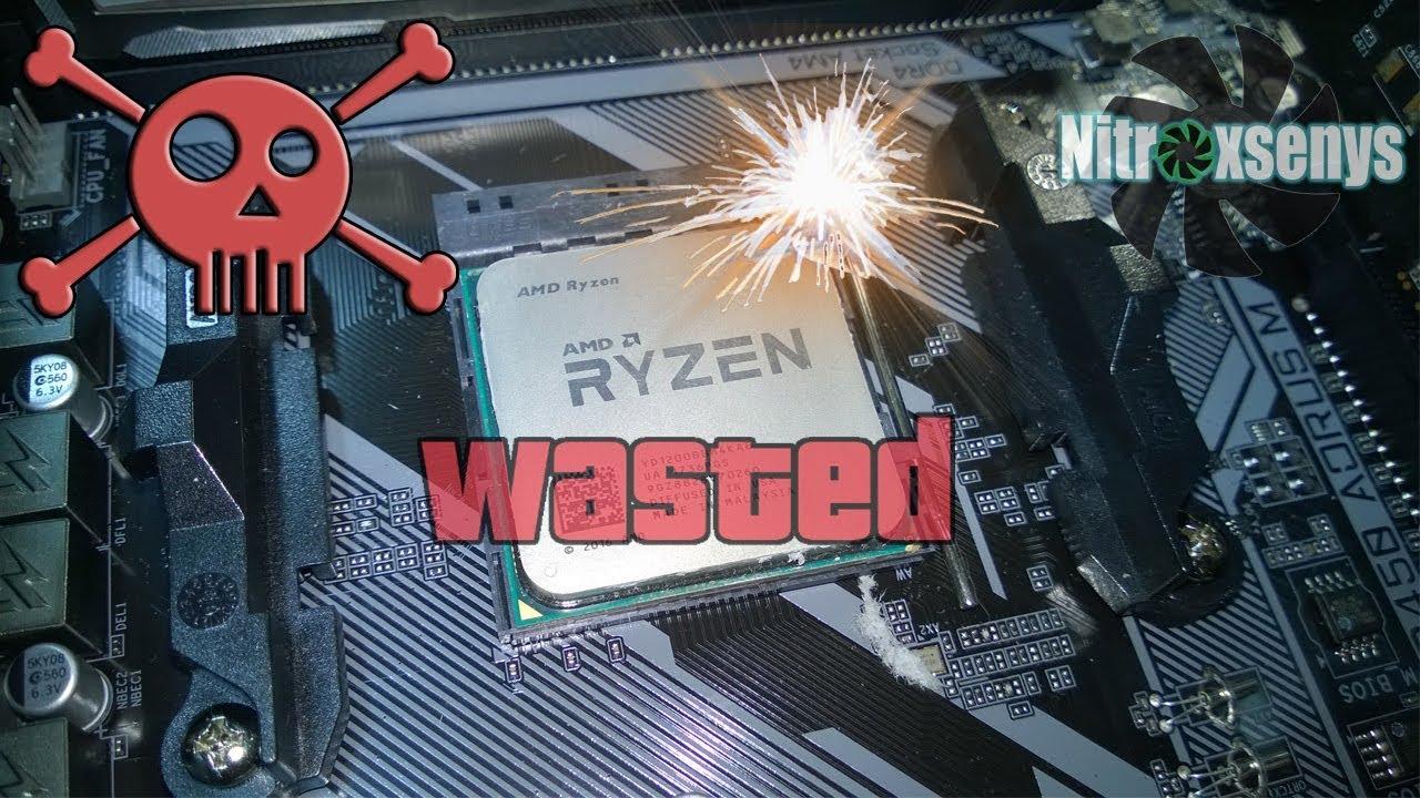 Процессор RYZEN сломали