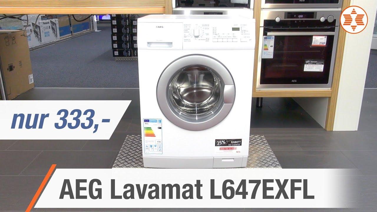 AEG Lavamat L647EXFL