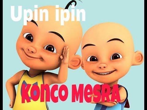 Lagu Konco Mesra - Unofficial Video Versi Upin Ipin Plus Lirik Lucuu Poooll