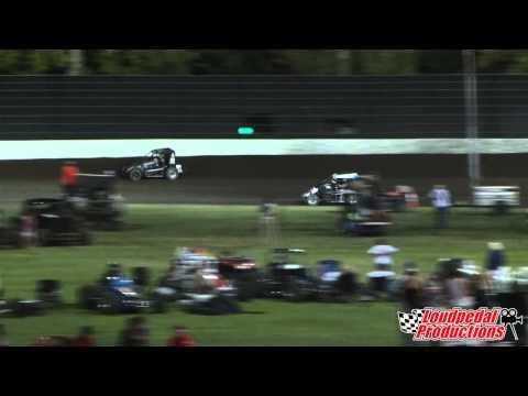 Calistoga Speedway 8-30-14 :: USAC Midgets